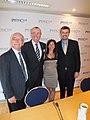 Peter Schmalz, Philip D. Murphy, Tammy Snyder Murphy, und William E. Moeller im PresseClub München, 2013.jpg