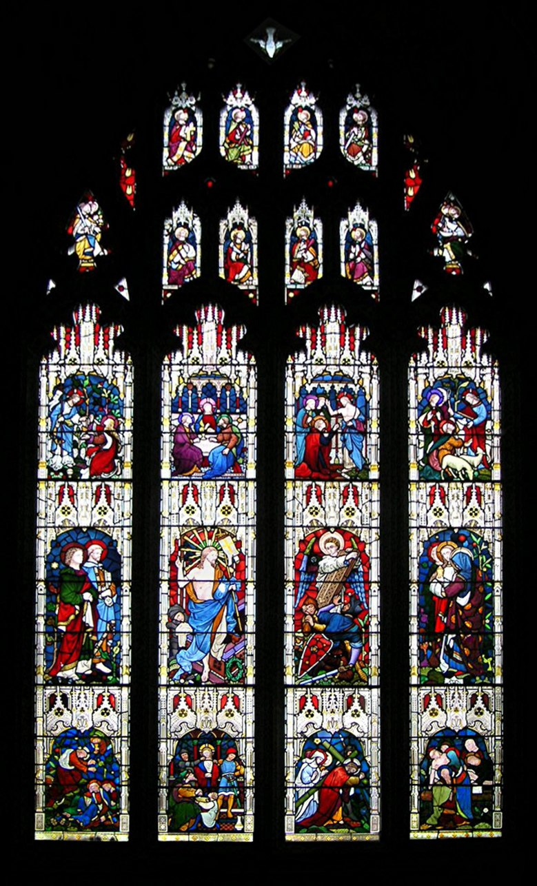 Peterborough Cathedral glass 02 b
