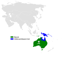 Petrochelidon nigricans distribution map.png