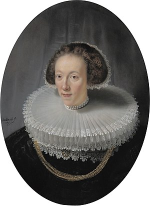 Oval Portrait of a Woman (Rembrandt, New York) - Image: Petronella Buys, by Rembrandt