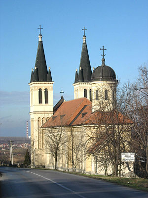 Battle of Petrovaradin - Image: Petrovaradin, The Our Lady of Snow ecumenic Church