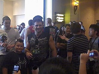 Phil Baroni - At the UFC 100 Fan Expo event in Las Vegas, July 2009