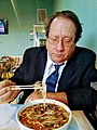 Phil Slattery eating Vietnamese Pho.jpg