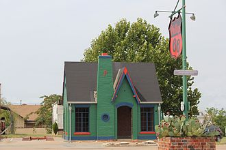 Chandler, Oklahoma - Former Phillips 66 Gas Station at 701 S. Manvel