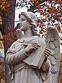 Phipps-Loomis Angel, Allegheny Cemetery, 02.jpg