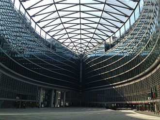 Politics of Lombardy - Palazzo Lombardia, the seat of the Regional Council, from the outside.