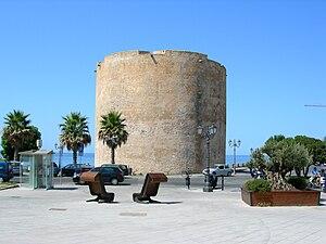 English: Piazza Sulis in Alghero (Sardinia), I...