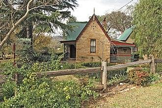 Picton–Mittagong loop railway line - Image: Picton NSW Tollgate Lodge