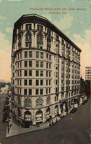 Willis F. Denny - Piedmont Hotel 1903-1963