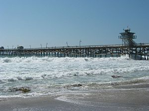 San Clemente, California - Another view of the San Clemente pier