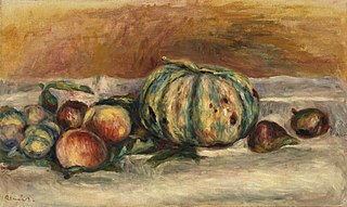 Still Life with Melon (Nature morte au melon)