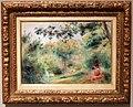Pierre-auguste renoir, paesaggio con donna e un bambino, 1895 ca.jpg