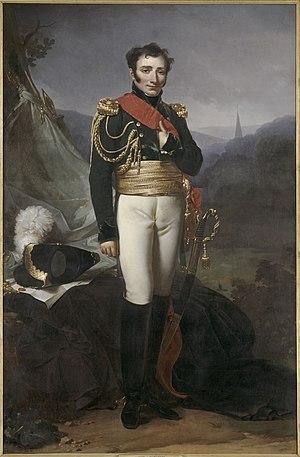 Jean Baptiste Pierre Constant, Count of Suzannet - The Count of Suzannet, painting by Jean-Baptiste Mauzaisse.