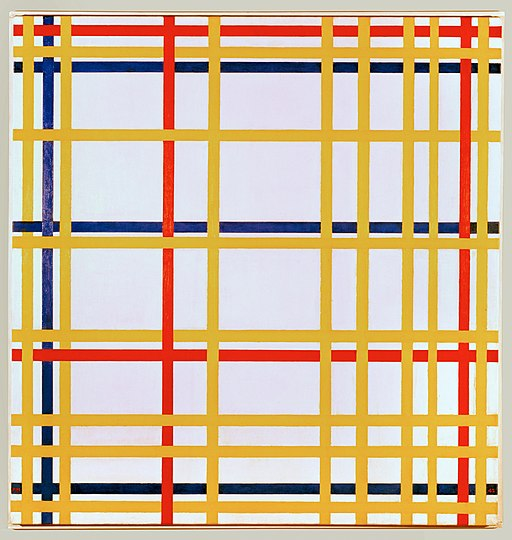 Piet Mondriaan New York City