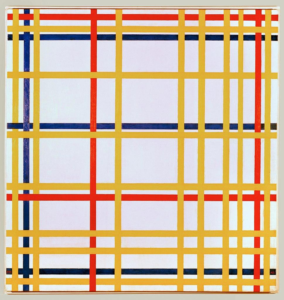 Piet Mondriaan, 1942 - New York City I
