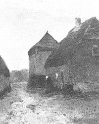 Piet Mondriaan - Boerderij met hooimijt in de Achterhoek - A22 - Piet Mondrian, catalogue raisonné.jpg