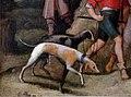 Pieter bruegel il giovane, san paolo condotto a damassco dopo la conversione, 1610 ca. 02 cani.jpg