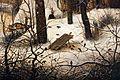 Pieter bruegel il vecchio, paesaggio invernale con trappola per uccelli, 1565, 04.JPG