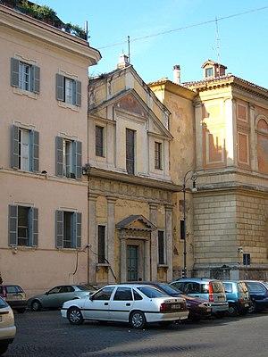 Santa Marta al Collegio Romano - Facade