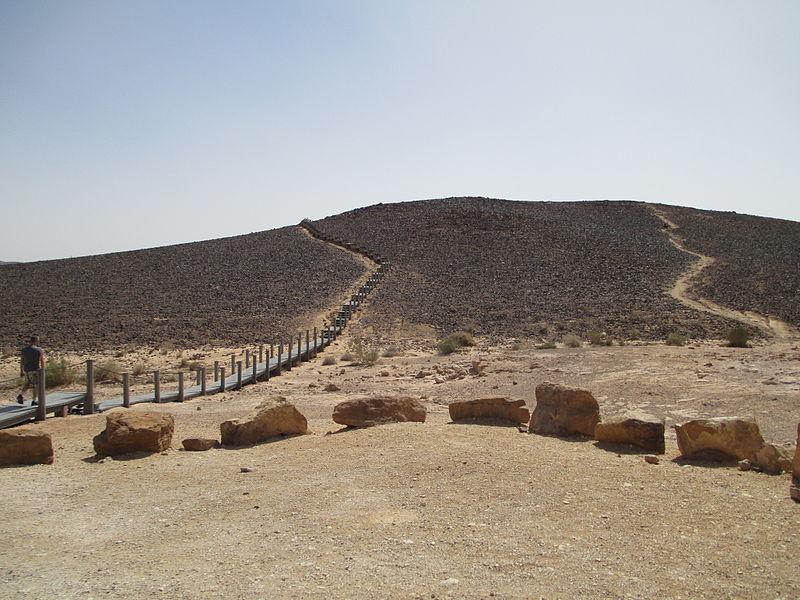 הנגריה (מנסרה) במכתש רמון
