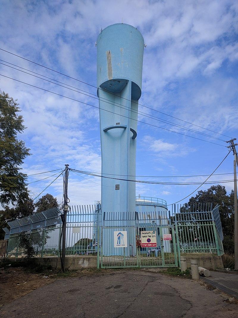 מגדל המים ברמת אליהו, ראשון לציון