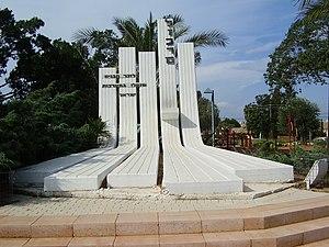 Even Yehuda - War Memorial in Even Yehuda