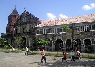 Pila, Laguna - Church of Pila, built in 1849.