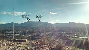 Pinal Peak - Image: Pinal Mountains peaks