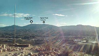 Pinal Peak mountain in Arizona, United States of America