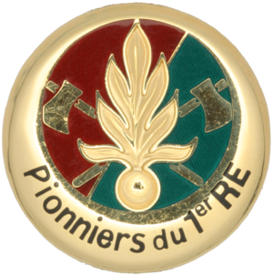 6th Foreign Infantry Regiment - Image: Pionniers