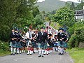 Pipe band at Ford fun day - geograph.org.uk - 1304899.jpg