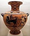 Pittore di busiride, hydria della classe delle idrie ceretane, prodotta da artigiani ioni a cerveteri, 530-520 ac ca. 01.jpg