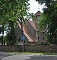 Pl - Legnickie Pole kościół Świętej Trójcy (Muzeum Bitwy Legnickiej) - Kroton 001.jpg