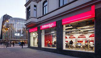 Bank Millennium - A branch of Bank Millennium in Katowice