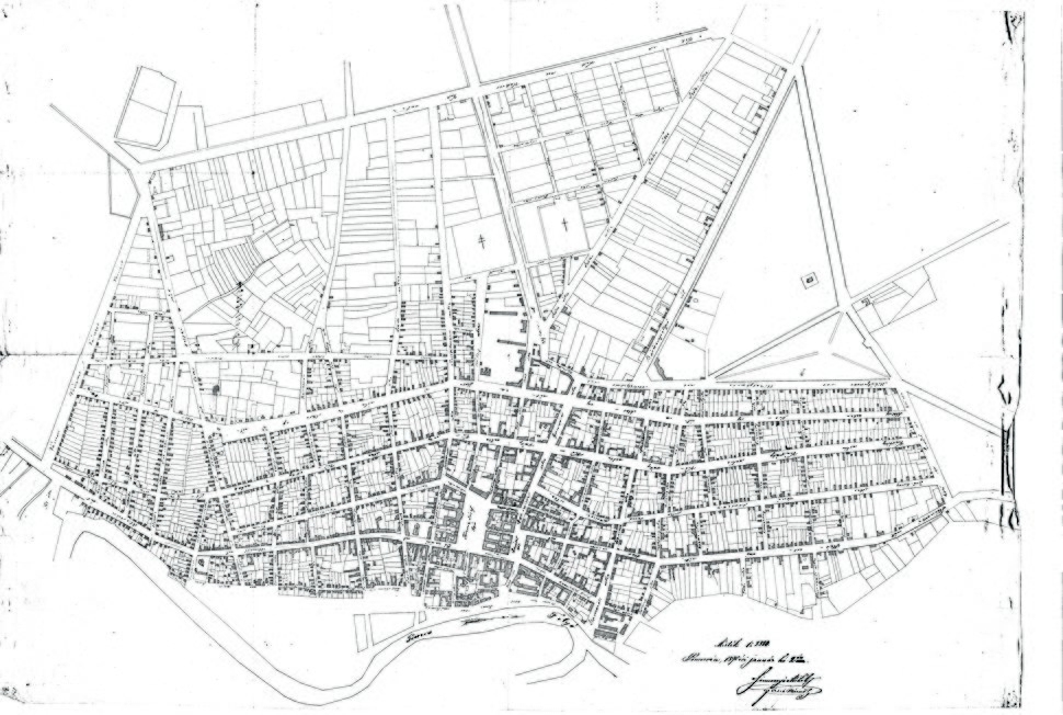 Plan grada Pančeva