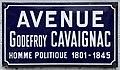 Plaque avenue Godefroy Cavaignac St Maur Fossés 4.jpg