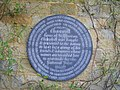 Plaque on wall at Chartwell - geograph.org.uk - 1421613.jpg