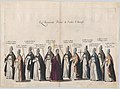 Plate 11- Members of the clergy marching in the funeral procession of Archduke Albert of Austria; from 'Pompa Funebris ... Alberti Pii' MET DP874761.jpg