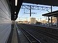 Platform of Kanda Station (Nippo Main Line) 1.jpg