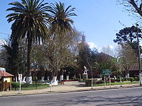 Plaza in El Monte