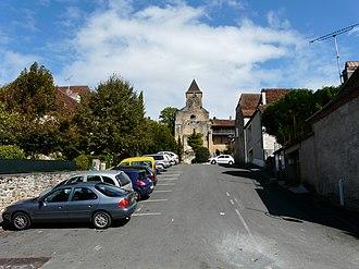 Plazac - Image: Plazac village