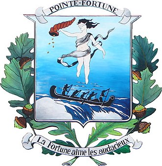 Pointe-Fortune, Quebec - Image: Pointe Fortune COA