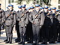 Polska Policja podczas święta niepodległości.JPG