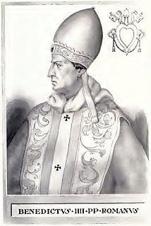 Pope Benedict IV pope