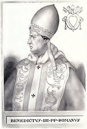 Pope Benedict IV - Image: Pope Benedict IV Illustration