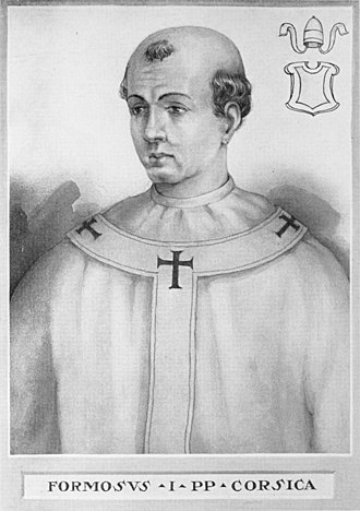 Pope Formosus - Image: Pope Formosus