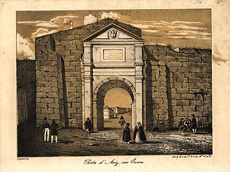 Évora - In the 19th-century, Évora declined in national power, as a result of the War of Two Brothers.
