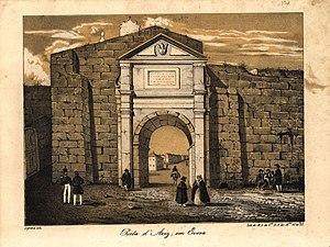 Porta de Aviz (litografia, 1839 - 1847)