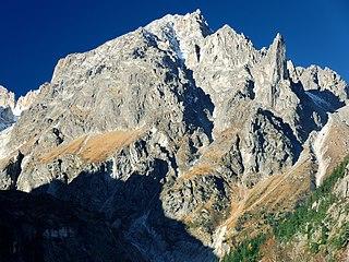 Le Portalet mountain in Switzerland