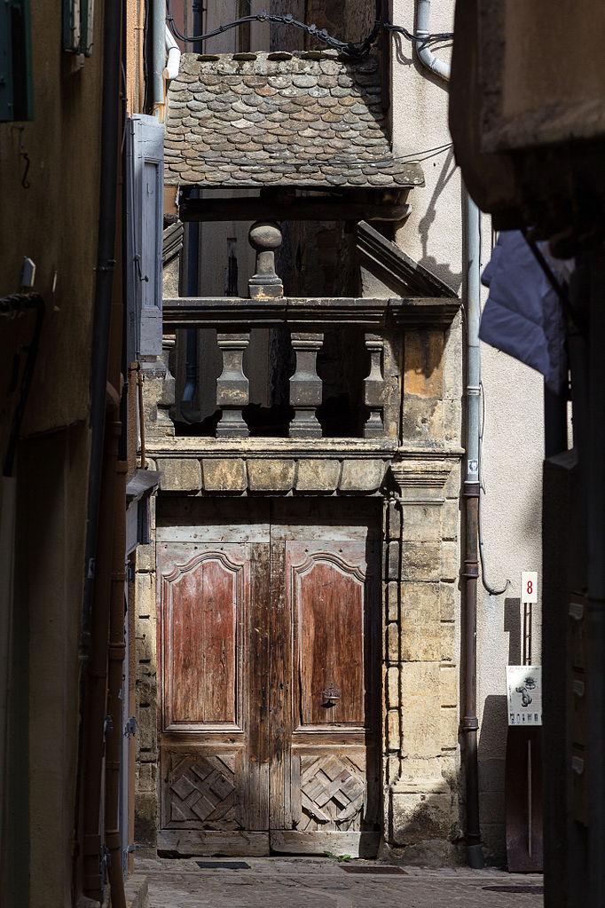 Fichier porte d 39 entr e ancien couvent des ursulines - Mise a la porte du couvent ...